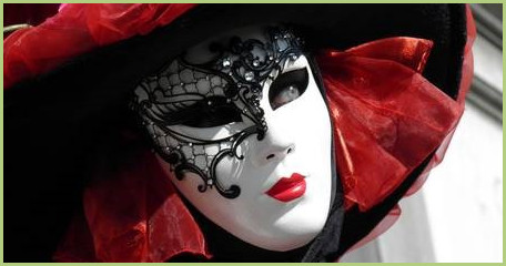 A mask of the Venice carnival
