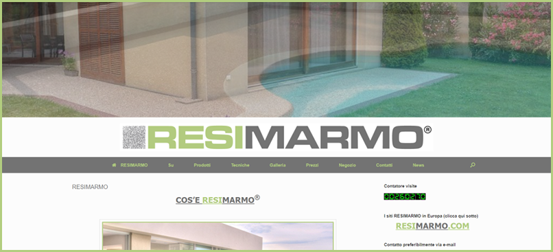 The subscribers - RESIMARMO Italia website